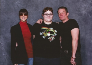 My loves! James Marsters and Juliet Landau! Aka Spike and Drusilla from Buffy! Soooo awesome in person!