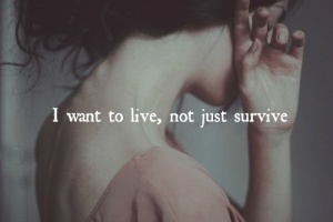 not just survive