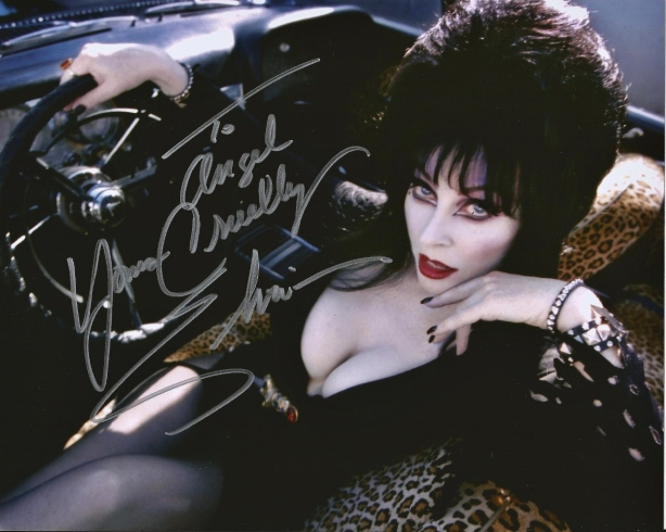 Childhood Role model, Elvira!